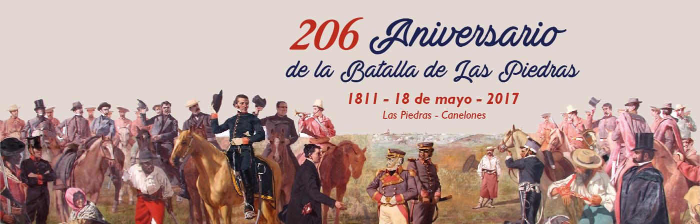206 Aniversario de la Batalla de Las Piedras