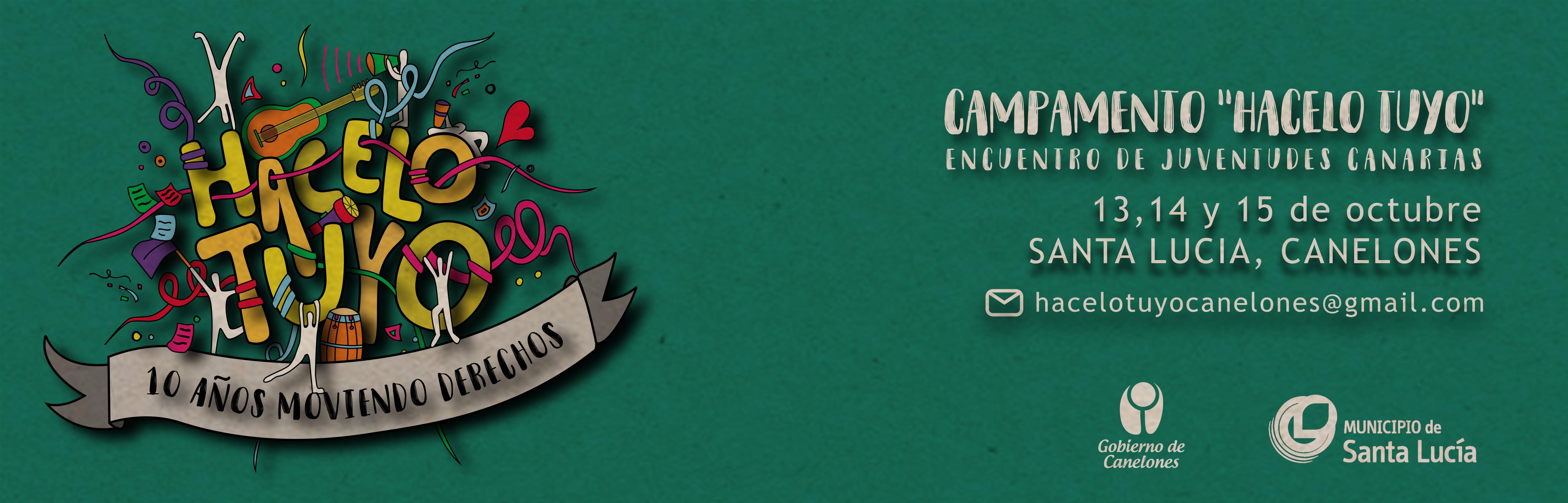 """Campamento """"Hacelo tuyo"""" - Encuentro de Juventudes Canarias"""